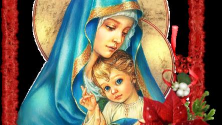 Лучшие поздравления с Рождеством Христовым в картинках (47 штук)